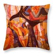 Time Passes From Reading Series Throw Pillow