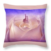 Time To Blossom Throw Pillow