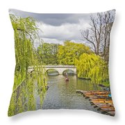 Time To Punt Throw Pillow