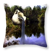 Time To Refresh Throw Pillow
