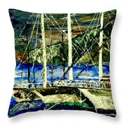 Time To Sail  Throw Pillow