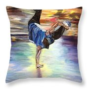 Time To Shake Things Up Throw Pillow