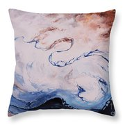 Time To Share  Throw Pillow