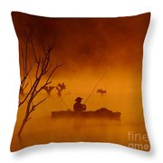 Time To Spread My Wings And Fly Throw Pillow