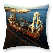Time To Work Throw Pillow