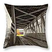 Time Travel 2 Throw Pillow