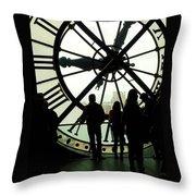 Time Travelers Throw Pillow