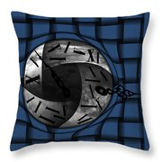 Time Weaves Throw Pillow