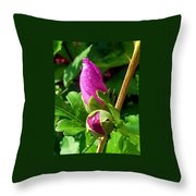 Time Will Come Throw Pillow