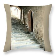 Time-worn Passage Throw Pillow