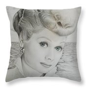 Timeless Beauty 2 Throw Pillow by Brent  Mileham
