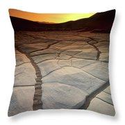 Timeless Death Valley Throw Pillow
