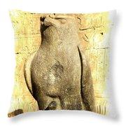 Timeless Horus Throw Pillow