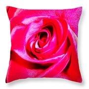 Timeless Red Rose Throw Pillow