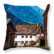 Timeless Watercolor Throw Pillow
