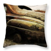 Timelines Throw Pillow