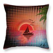 Timeout Vision Throw Pillow