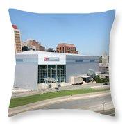 Times Union Center Throw Pillow