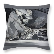 Timing Is Everything - Father Son Art Throw Pillow