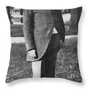 Timothy L Throw Pillow