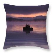 Timothy Lake Serenity Throw Pillow