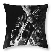 Tin Machine - David Bowie Throw Pillow