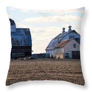 Tin Roof Farm Throw Pillow