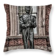 Tin Soldier - Human League On Broad Street Throw Pillow