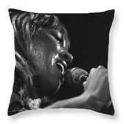 Tina Turner 1 Throw Pillow