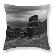 Tinajani Canyon Near Puno Peru Throw Pillow