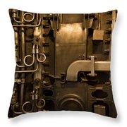 Tinkering Throw Pillow