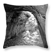 Tintagel Fogou 1 Throw Pillow