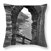 Tintagel Portal 1 Throw Pillow