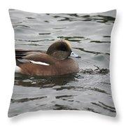 Tiny Duck  Throw Pillow