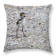 Tiny Survivor Throw Pillow