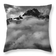 Tips Of The Tantalus Throw Pillow