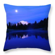 Tipsoe Lake In The Morn  Throw Pillow by Jeff Swan