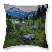Tipsoo Meadows Throw Pillow