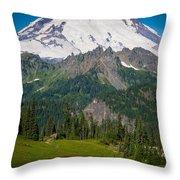 Tipsoo Moonset Throw Pillow