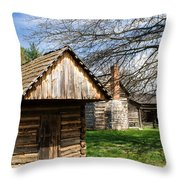 Tipton Hayes Shed 3 Throw Pillow by Douglas Barnett