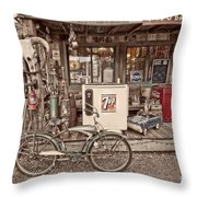 Tire And Battery Service Throw Pillow