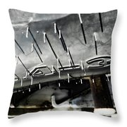 Tire D  Throw Pillow