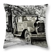 Tired Spares Throw Pillow