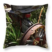 Tireless Throw Pillow