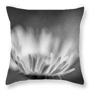 Tis But A Dream 2 Monochrome Throw Pillow
