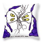 Tis Tangled Two Throw Pillow