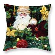 Tis The Season - Seasonal Art Throw Pillow