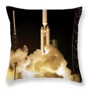 Titan Ivb Launch Throw Pillow