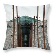 Titanic Museum Throw Pillow