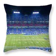 Titans Lp Field 9-3-2010 Throw Pillow